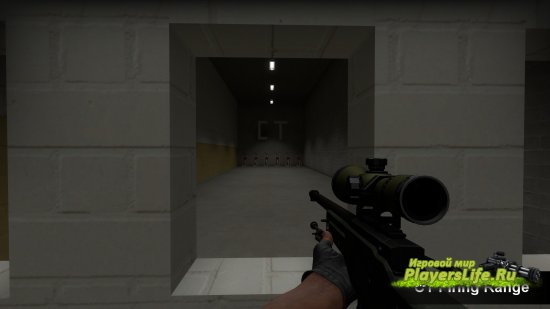 Карта для проверки на дальность стрельбы из AWP и Deagle для CS:GO