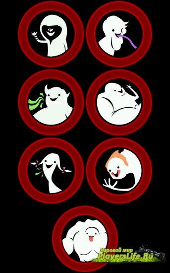 Симпатичные иконки зараженных на экране играющих для Left 4 Dead 2