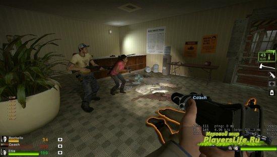 Отчетливый HuD для Left 4 Dead 2