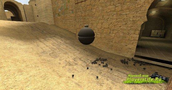 Поймать гранату в воздухе для CSS Sourcemod