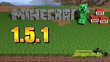 Minecraft 1.5.1 с пиратским лаунчером и русифицированным переводом