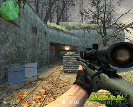 Наказание игроков после стрельбы с AWP для CS:S Sourcemod