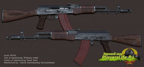 AK74 для Counter-Strike: Source