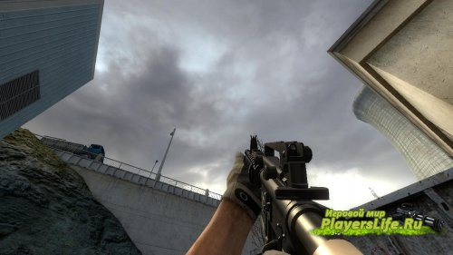 M4 автомат меняет АК-47 для CS:S