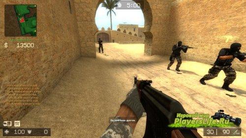 AK47 на анимации от ImBrokeRu (v.2) для CS:S