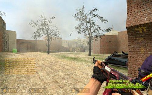 AK-47: Красная молния для CS:S