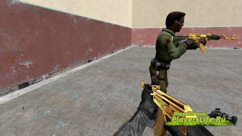 Золотой АК-47 для CS:S