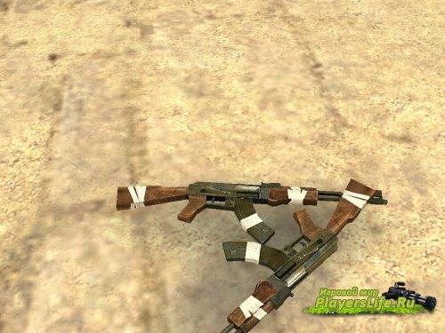 Ржавый AK-47 для CS:S