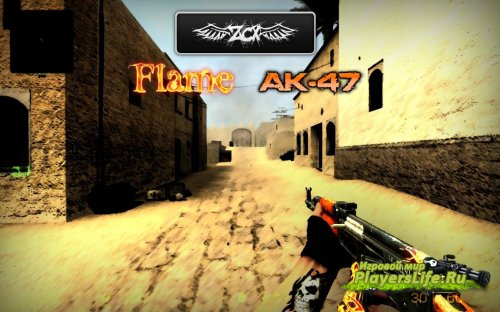 AK-47 | Пламя для CS:S
