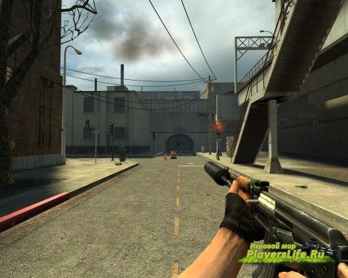 Стандартный АК-47 с глушителем для CS:S
