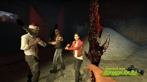Меч из Ада для Left 4 Dead 2