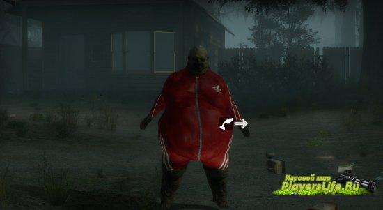 Толстяк в форме Адидаса для Left 4 Dead 2