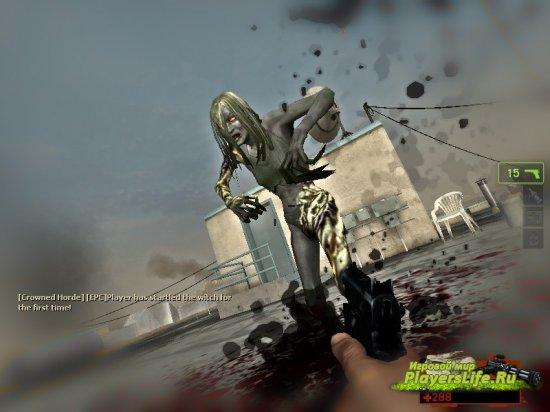 Алексия эшфорд из Resident Evil для Left 4 Dead 2