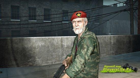Билл из русского спецназа для Left 4 Dead 2