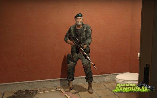 Армейский Билл из США для Left 4 Dead 2