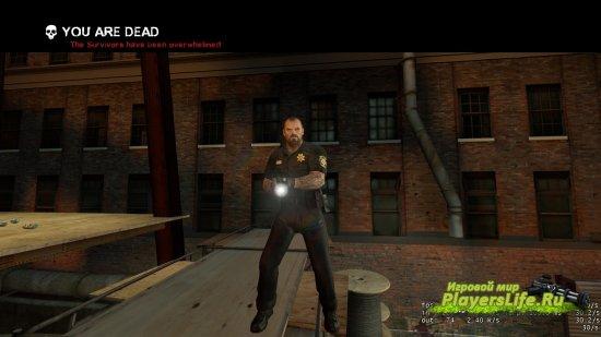 Офицер Френсис для Left 4 Dead 2