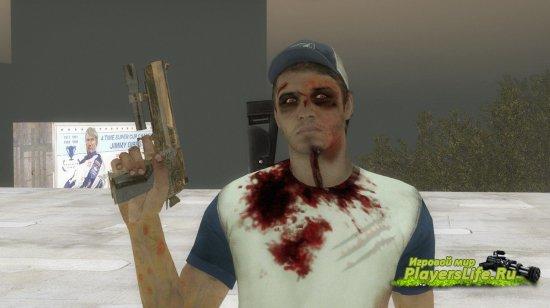 Укушенный Эллис для Left 4 Dead 2