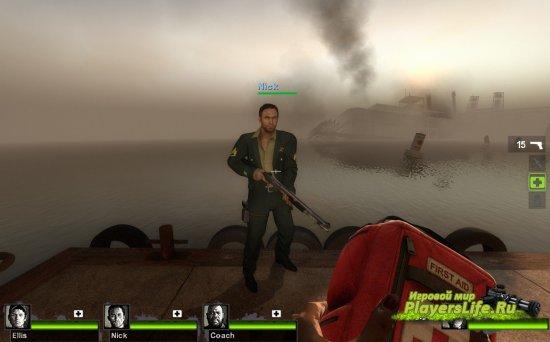 Армейский стиль для Ника (Left 4 Dead 2)