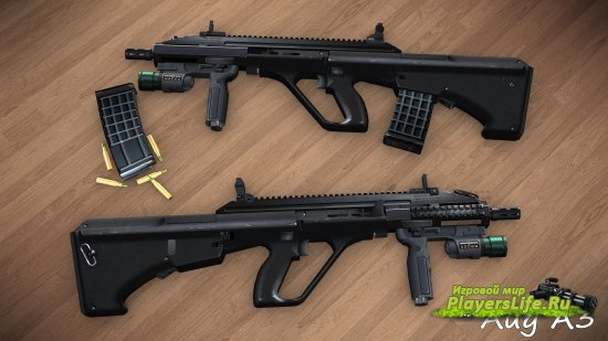Aug A3 для Counter-Strike: Source