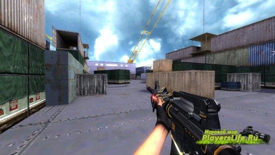M4A1-S: ����� ��� Counter-Strike: Source (������ FAMAS)