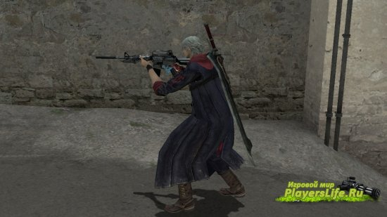 Неро из Devil May Cry 4 для CS: Source