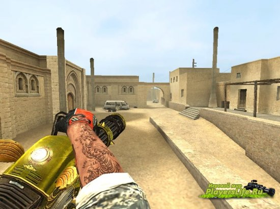 M134 Minigun для Counter-Strike Source