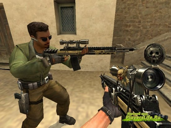 Skull-5 для Counter-Strike Source