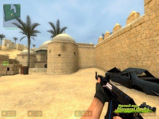 АК-47: Синий ламинат для CS:S