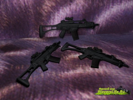 Arby26's G36C On IIopn Animations ��� CS:S