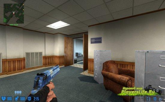 Роскошный синий Deagle для CS:S