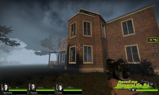 Заброшенный дом в лесу (карта) для Left 4 Dead 2