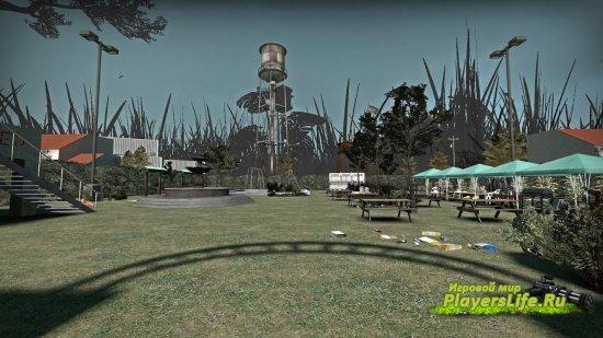 Карта Plants vs Zombies для Left 4 Dead 2