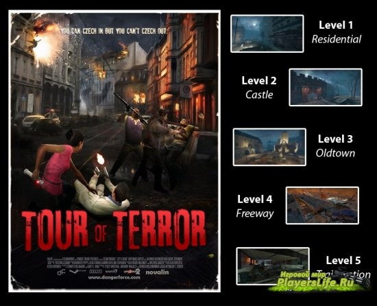 Tour of Terror ��� ���� �� ����������� ��� Left 4 Dead 2