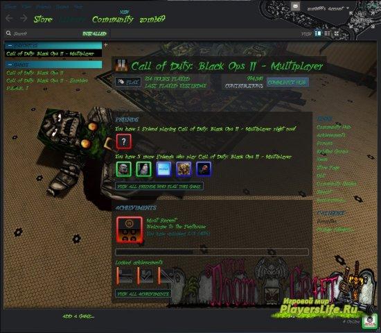 vonDoomcraft оформление для steam