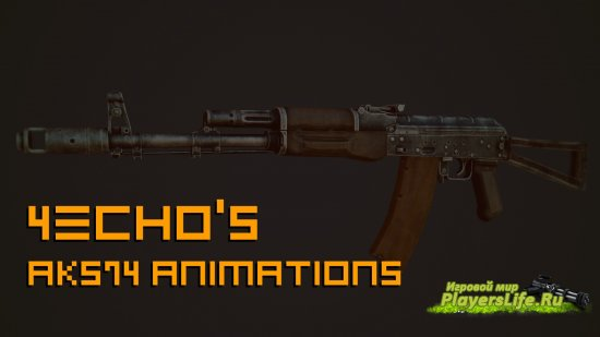 4Echo's AKS74 Animations (CS Source)