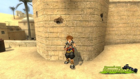 Сора (Kingdom Hearts) для Counter-Strike Source