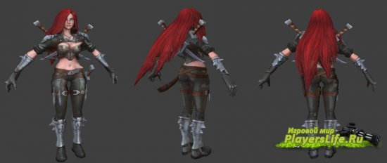 Katarina из League of Legend для CS: Source