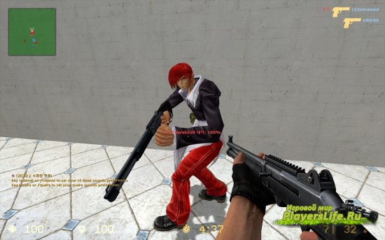 Iori Yagami для Counter-Strike Source
