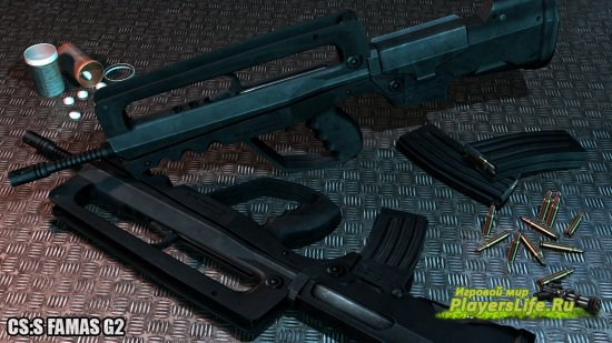 Soldier11's FAMAS G2 Animations (CS Source)