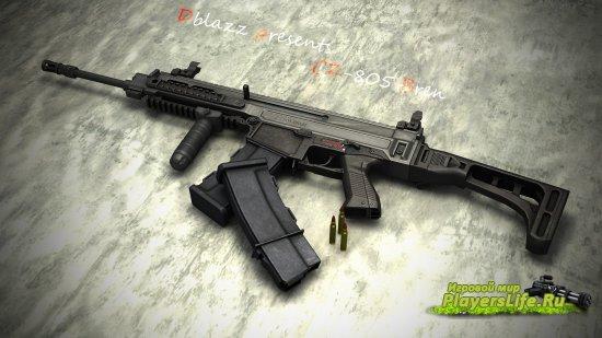 Модель оружия Dblazz's CZ-805 Bren для CS:S