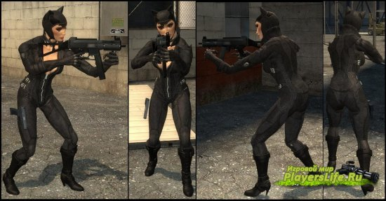 Женщина-кошка для Counter-Strike: Source