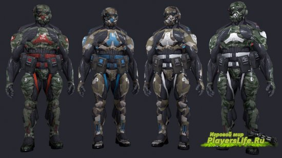 Нанокостюм из Crysis (CT Pack) для CS: Source