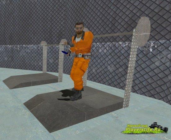 Скин тюремного заключенного для CS: Source