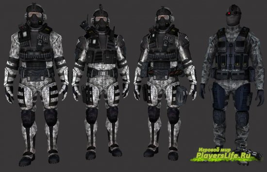 Crysis C.E.L.L. Assault Operative (��� ��� CT) CS:Source