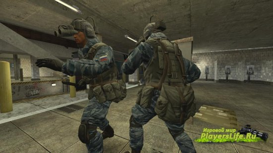 Warface русский спецназ для Counter-Strike: Source