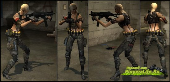 Alice Ranger из CF для Counter-Strike: Source