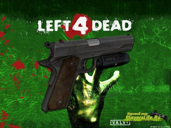 Colt 1911 из Left 4 Dead для Counter-Strike: Source