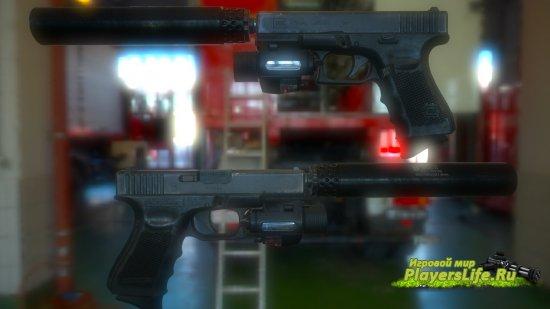 Модель оружия Glock 19 Gen4 Revival для CS: Source