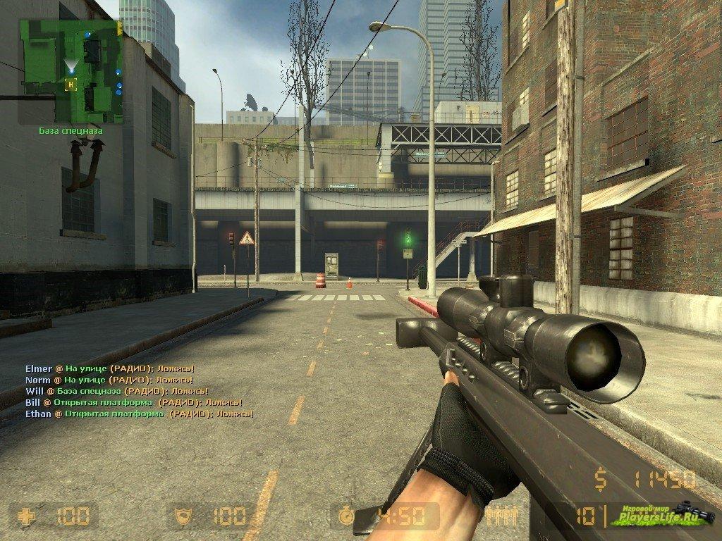 Counter strike source модели оружия