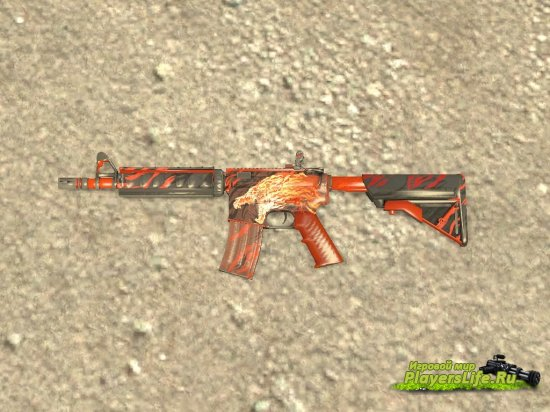M4A4 Вой для Counter-Strike: Source